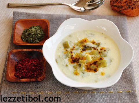 Yoğurtlu Pirinçli Taze Fasulye Çorbası