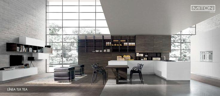 Diseño #acogedor, #multifuncional, unido al resto de la casa, gracias a #módulos no convencionales de acabados perfectos.