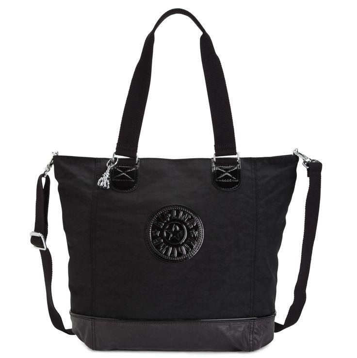 Kipling Shopper Combo Tote - Blackcombo