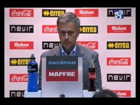 Video Rayo 0-2 Real Madrid: Rueda de prensa de José Mourinho