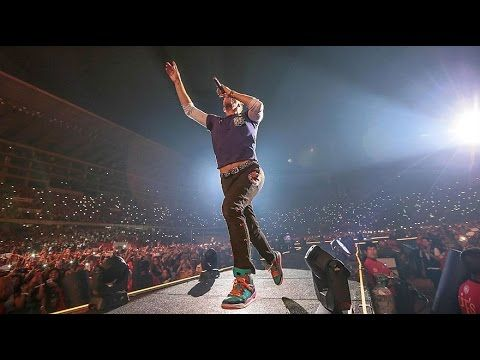 Coldplay en Perú - Fix You - Live Lima 2016 - When you get what you want but not what you need.... stuck in reverse. I will try to fix you....