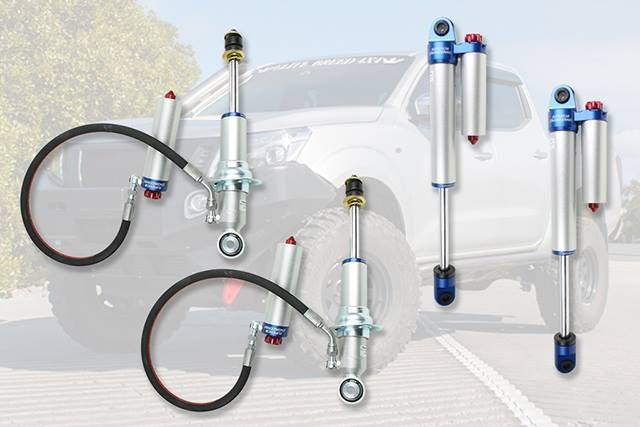 "Now Available, Superior Engineering Adjustable Struts and Shocks for Nissan Navara NP300.  Inspired by the shocks used in the suspension makeover of Bad Apple, we now have these shocks ready in 2"" lift with 3"" & 4"" also available in a full remote reservoir set up.  Featuring 8 Stage compression adjustable and Remote Reservoir design.  The rear shocks also feature a Piggyback style reservoir for easy fitment.  RRP $360 each (strut), $355 each (shock).  Less 20% for the next week using the…"
