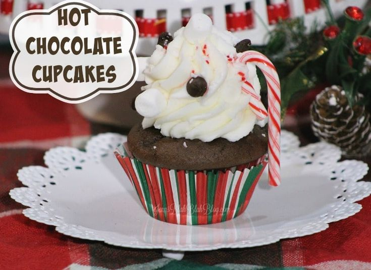 Homemade Hot Chocolate Cupcakes Recipe