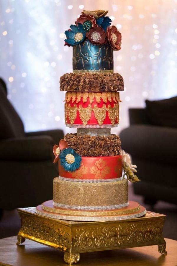 sisters wedding cake by saima hebel Cakes & Cake ...