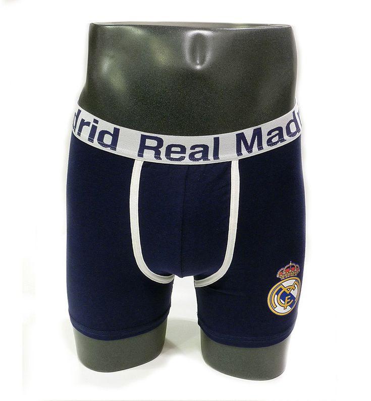 Bóxer Real Madrid Azul http://www.varelaintimo.com/marca/47/madness
