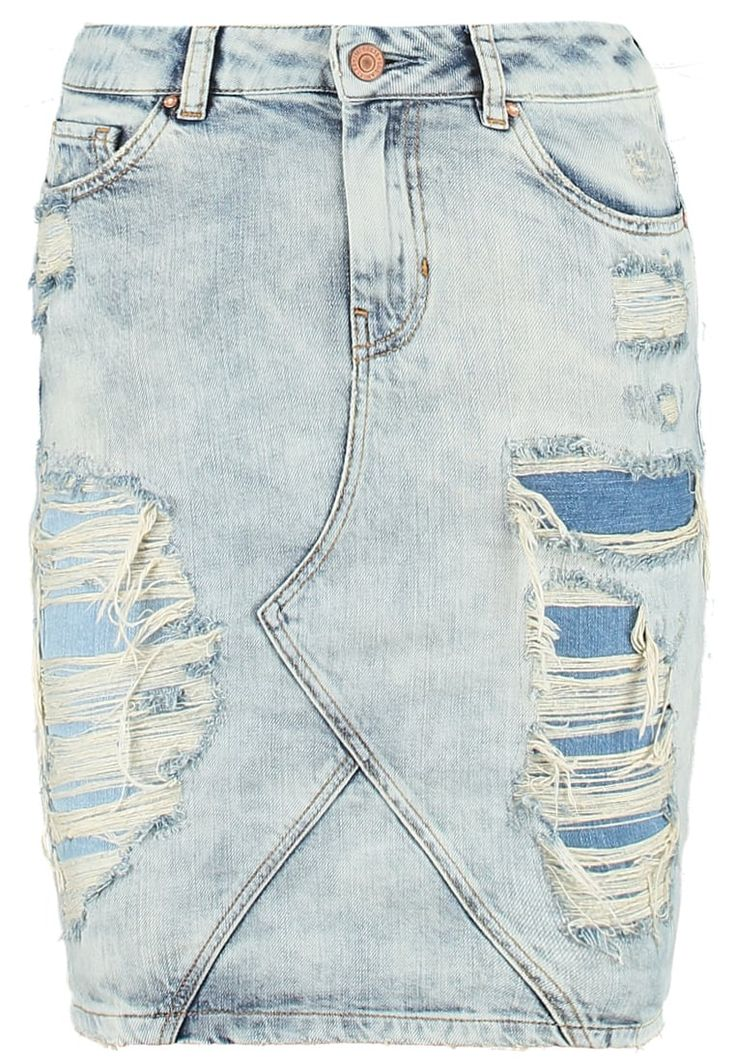 Minirok Guess BETTE - Minirok - villiers Gebleekt denim/bleached denim: € 54,50…