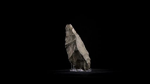 Listen to program on stone handaxe blades from British Museum's History of the World in 100 Objects