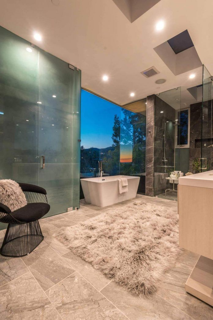 Multi-million home on the hills of Los Angeles has panoramic views by FINA Construction Group - CAANdesign | Architecture and home design blog