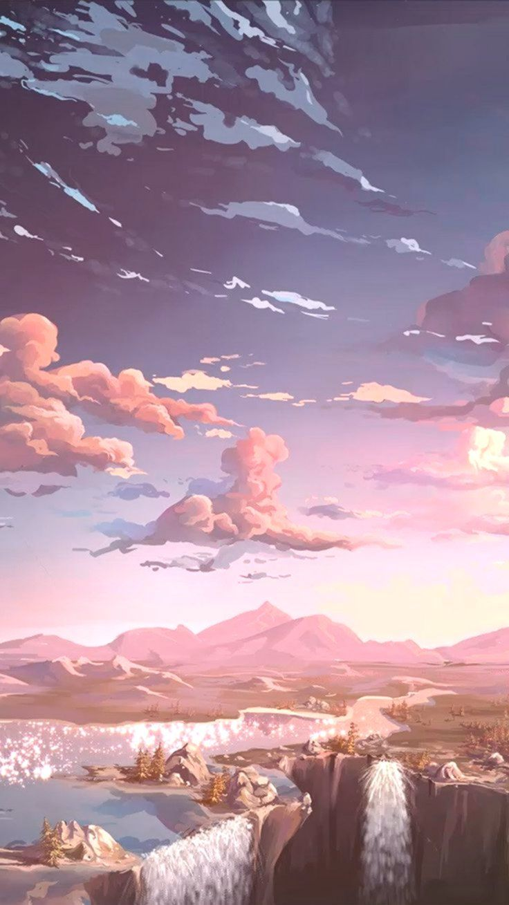 23+ Landscape Anime World Wallpaper JPG