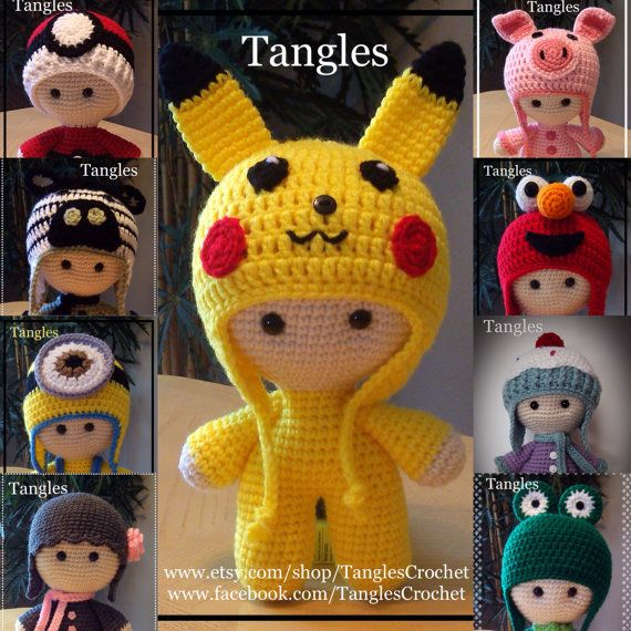 This listing is for the Pikachu Inspired Big Head Baby Doll. This item has sold…