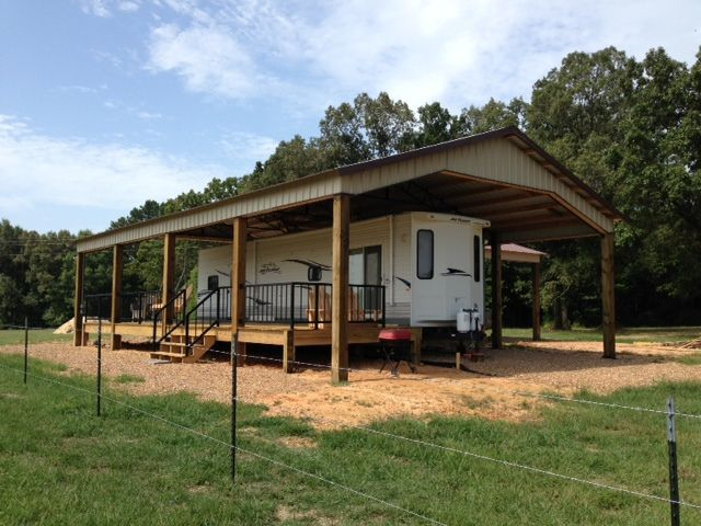 Best 25 rv carports ideas on pinterest rv shelter for Rv barn plans