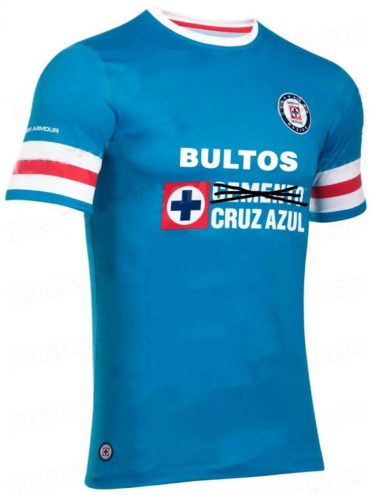 ¡Imágenes exclusivas de la nueva playera de CRUZ AZUL FUTBOL CLUB A.C.!  #somosJUGOtv #LigaMX
