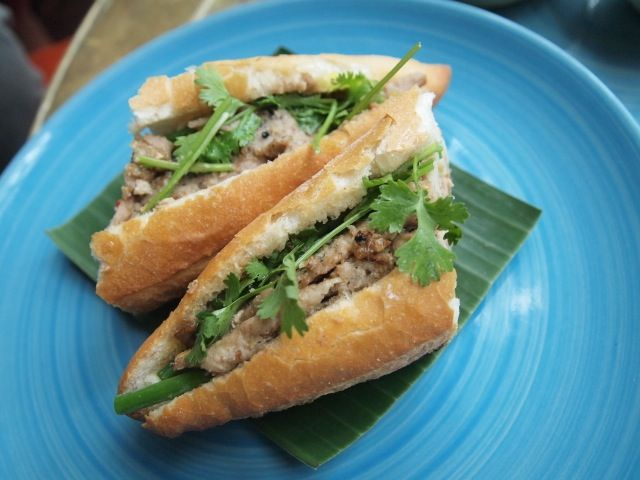Banh mi at Red House Restaurant, Hoi An