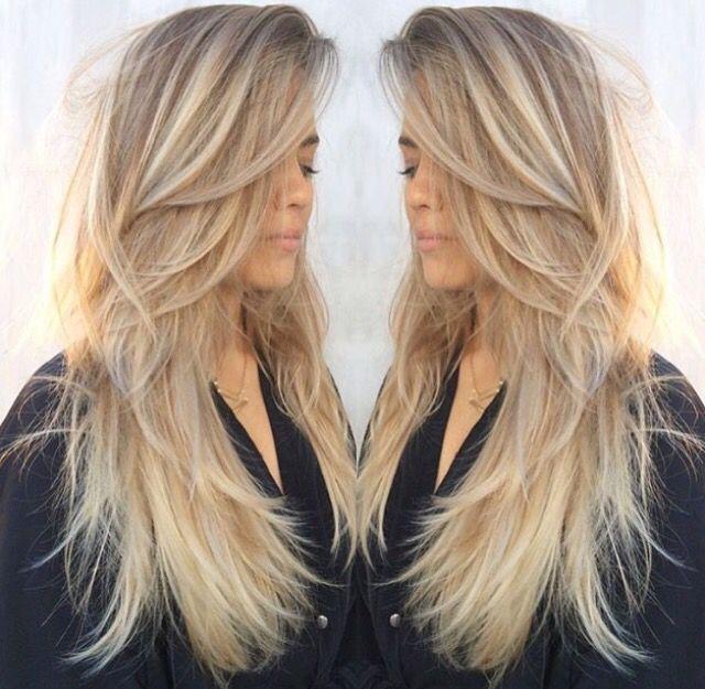 Terrific 1000 Ideas About Long Blonde Haircuts On Pinterest Blonde Short Hairstyles Gunalazisus