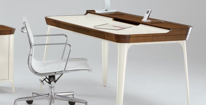 Beautiful Retro Airia Desk Is Totally Modern