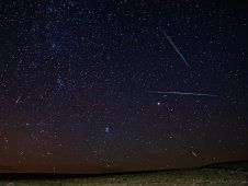 The Perseid Meteor Shower is at its peak from now until early Sunday morning! If you're near city lights like me, you probably won't get a good view but you can watch it streaming online and also get a chance to chat with a NASA astronomer!