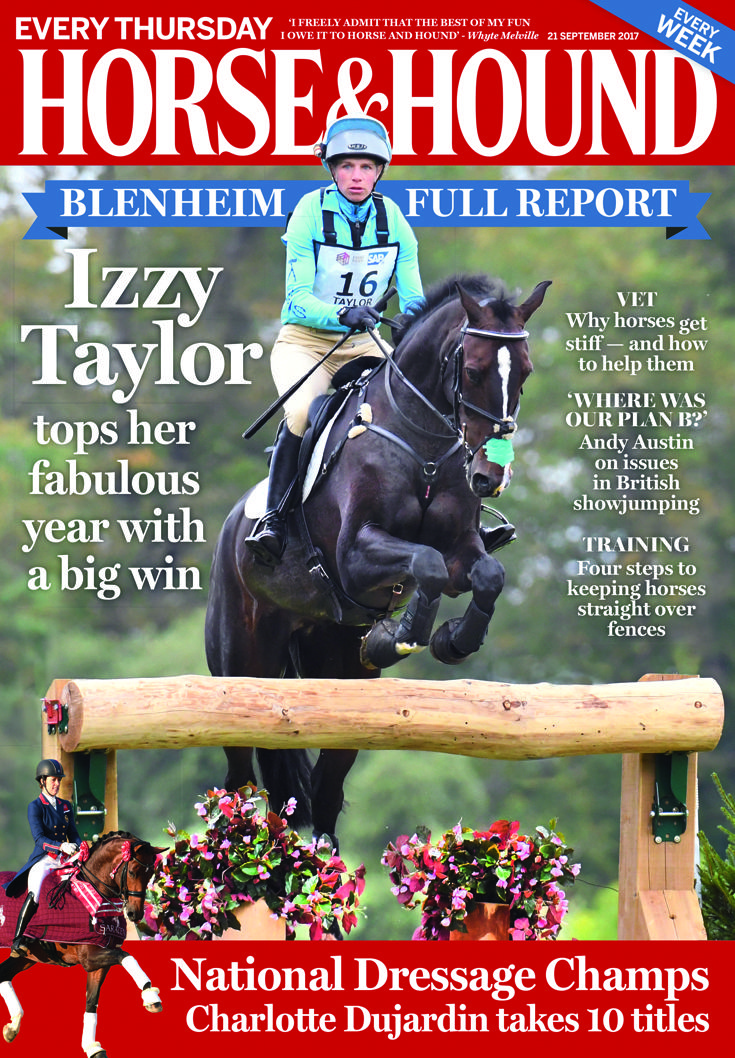 Check out this week's Horse & Hound (21 September) — read the full reports from the National Dressage Championships, Blenheim and much more