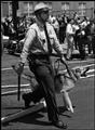 Bob Adelman  USA. Alabama. Birmingham. 1963. Police dogs are brought out by Birmingham police to control demonstrators.  Image Reference  NYC19527  (ADB1963003W0000X/XX)  © Bob Adelman/Magnum Photos