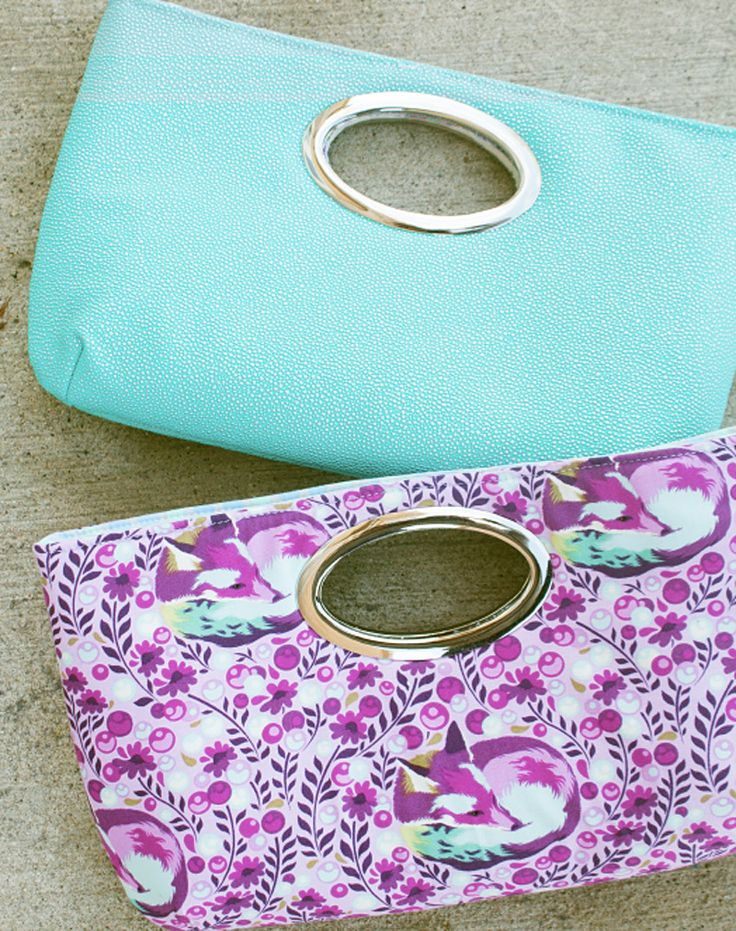 Free Discotech Clutch Pattern with Windy City Bags Book + Building Better Bags Craftsy Class GIVEAWAY | Sew Mama Sew