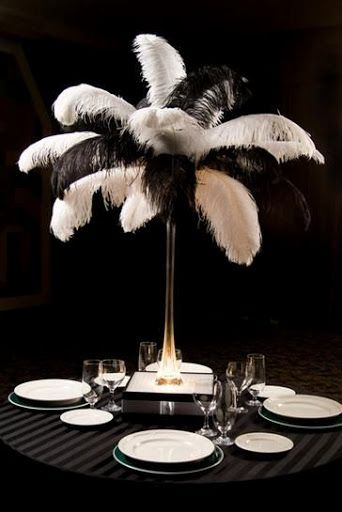 20s wedding decorations | ... . This look serves well for a roaring 20s themed wedding or event