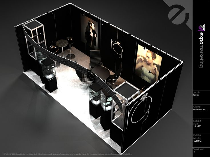 Jewelry Exhibition Booth Design : Best exhibits booths displays images on