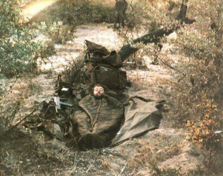 TB and foxhole.  Snooze time.  50 round mag on R4