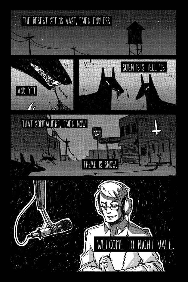 """Suuuccchhh cool fanart.   The 42 Stages Of """"Welcome To Night Vale"""" Addiction"""