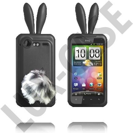 HTC Incredible S mustat pupu suojakuoret!