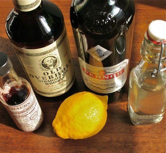 Recipe for Fall: Sazerac Cocktail, absinthe