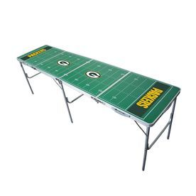 Wild Sports 96-In X 24-In Rectangle Cast Aluminum Green Bay Packers Fo