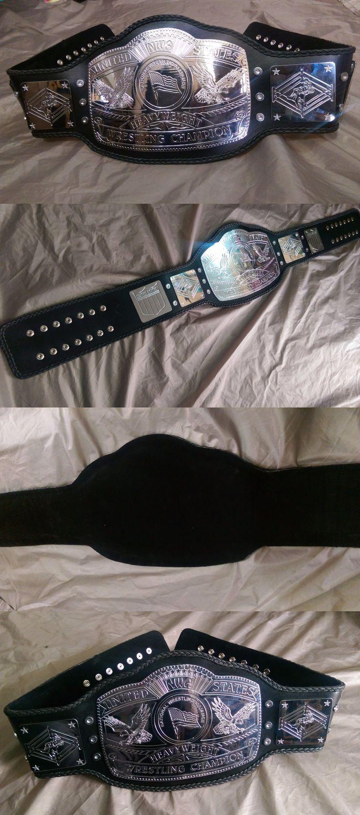 Wrestling 2902: Nwa United States Championship Belt Unpainted -> BUY IT NOW ONLY: $225 on eBay!