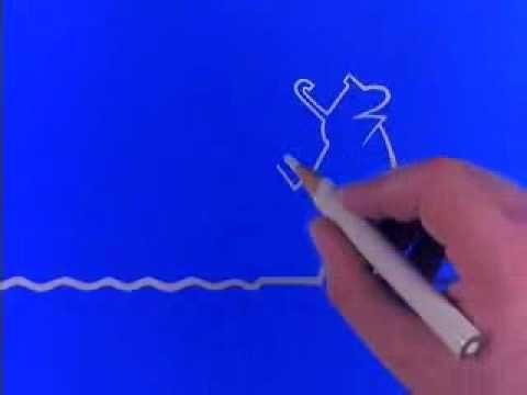 La línea, del autor italiano Osvaldo Cavandoli. ¡Divertidísimo! Animaciones sin palabras... pero los alumnos pueden hablar y contar lo que pasa.