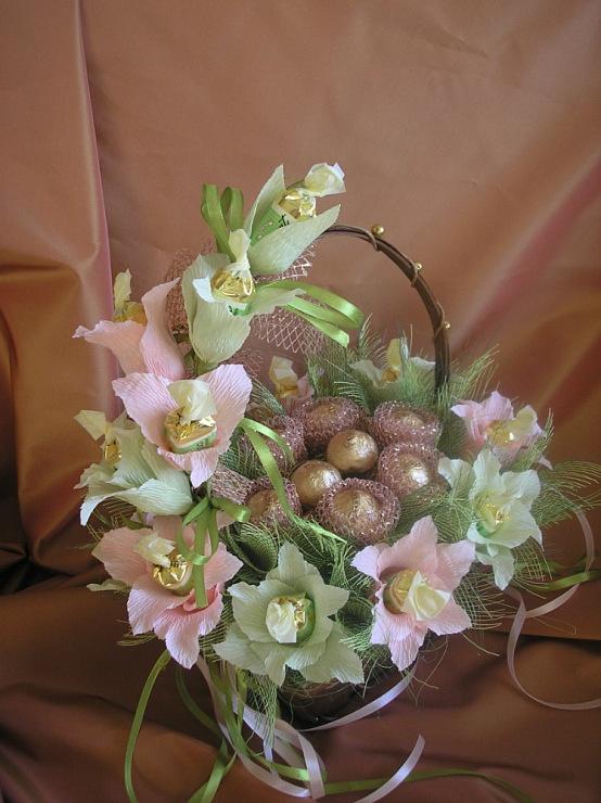 Корзины с цветами - monier