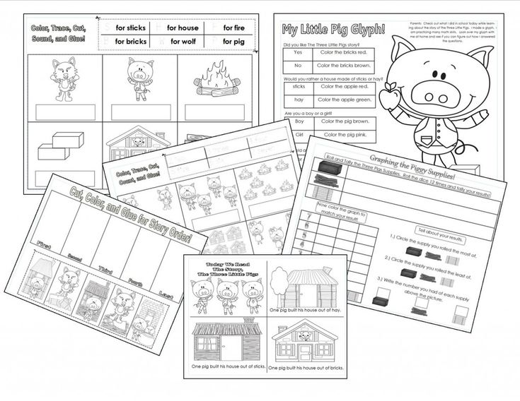 The Three Little Pigs Literature Extensions (from Teaching Heart Blog)