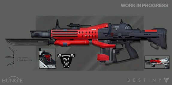 Bungie : News : Destiny Drawing Board: Red Death