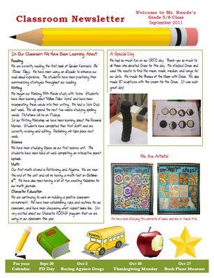 3e59e1af114eb181fe9d018e9d6d993b--pre-newsletter-newsletter-ideas Teaching Helper Clroom Newsletter Templates on
