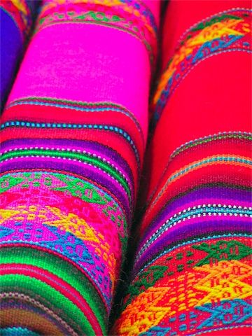 Mexican woven fabric- great for table runners, placemats, borders on towels, throw pillows and upholstering furniture.