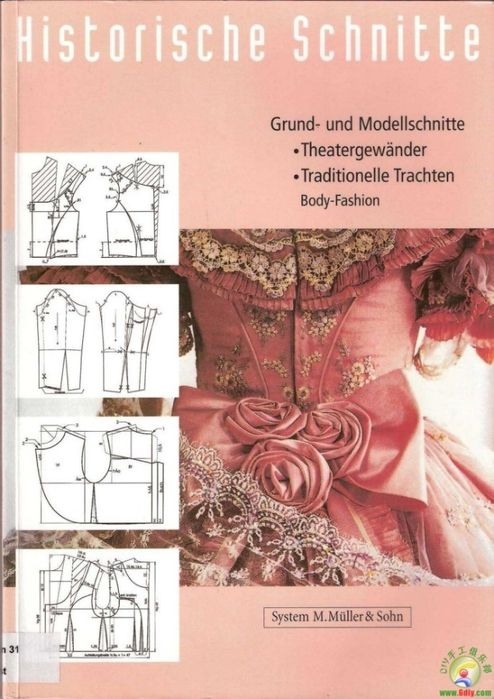 Historical costuming free online book (in german on russian site)