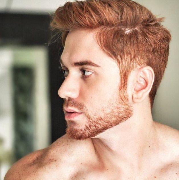 Pin By Sondra Petrone On Eye Candy Ginger Hair Men Men Hair