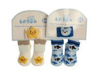 £1.99 - Soft Touch Socks And Wristband Suitable 0-6 Months