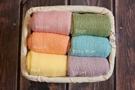 Rainbow Baby SetNewborn Stretch WrapPhoto PropNewborn | Etsy