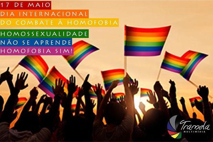 A luta é diária e constante mas hoje é um dia importante para se levantar ainda mais a bandeira contra a intolerância!  Respeito deve ser o caminho sempre!  A Tramela Multimídia luta junto nesta causa de amor.  #tramelamultimídia #trameleiros #vamostramelar #respeito #amor #maisamorporfavor #luta #respect #love #morelove #sociedade #paz #peace #recife #olinda #jaboataodosguararapes #pernambuco #brasil #brazil #diainternacionalcontraahomofobia