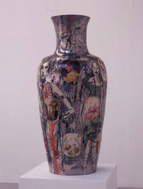 Grayson Perry Whoring Grayson Perry Style 1997 Earthenware 85 x 36 x 36 cm