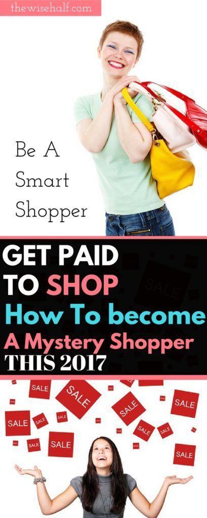 Mystery shopping online job