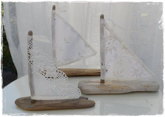 25 Petite 33.5 Driftwood Sailboats with Antique door LoveEmbellished