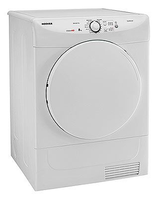 This brand new tumble dryer has a large drum and features sensor drying and energy saving reverse action. Finished in pure white with 10 years parts, 1 year labour warranty. Ideal for a family.