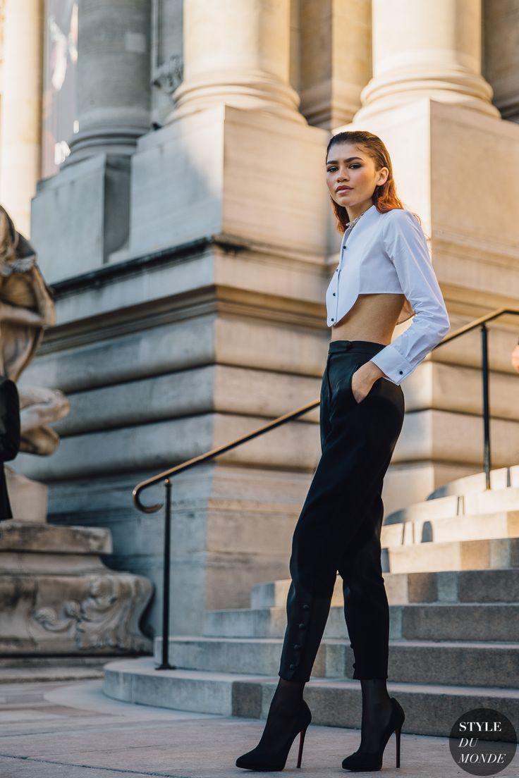 Haute Couture Fall 2019 Street Style: Zendaya