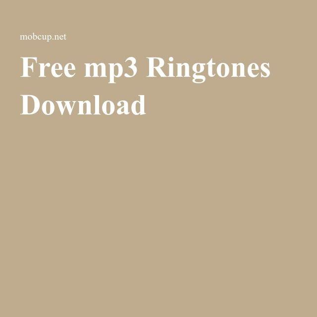 Free mp3 Ringtones Download