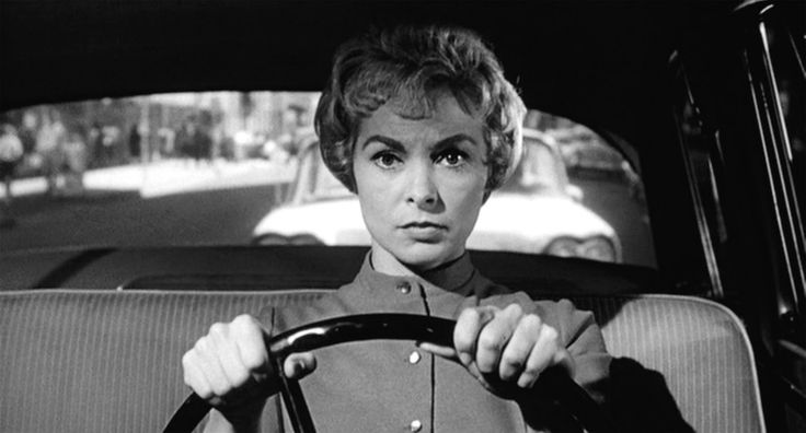 Leave it to Alfred Hitchcock to inextricably link the two in the mind's eye of an impressionable youth through the delightful visage of Janet Leigh in a black bra. Description from iheartingrid.wordpress.com. I searched for this on bing.com/images