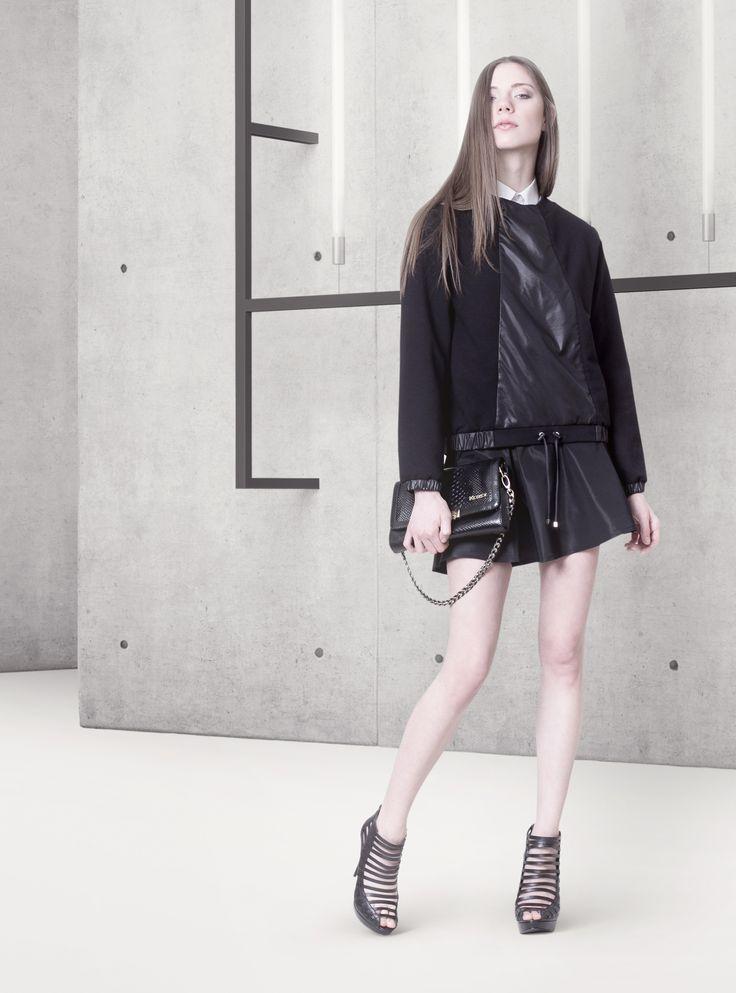 Cocoon Spring - Summer 2014 / Non collection / Black Sweatshirt & Mini.